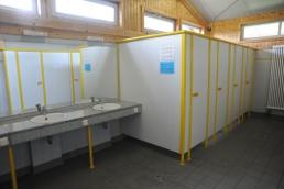 modernes Sanitärhaus